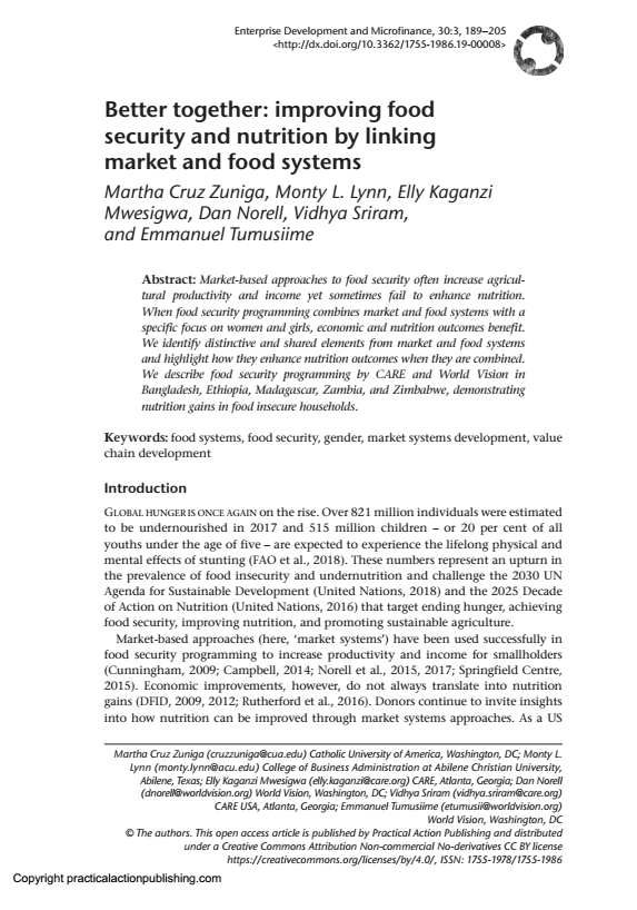 better-together-improving-food-security-and-nutrition-by-linking-market-and-food-systems