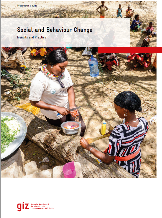 Cover page of Social and Behavior Change resource