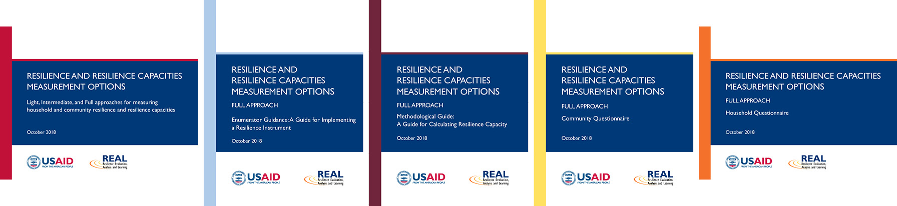 image of front covers of guidance documents