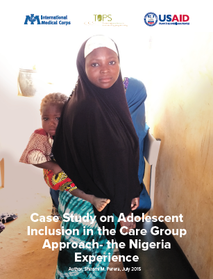 Download Resource: Case Study on Adolescent Inclusion in the Care Group Approach - the Nigeria Experience