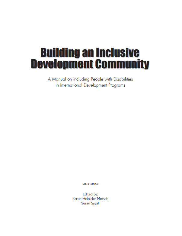 Download Resource: Building an Inclusive Development Community