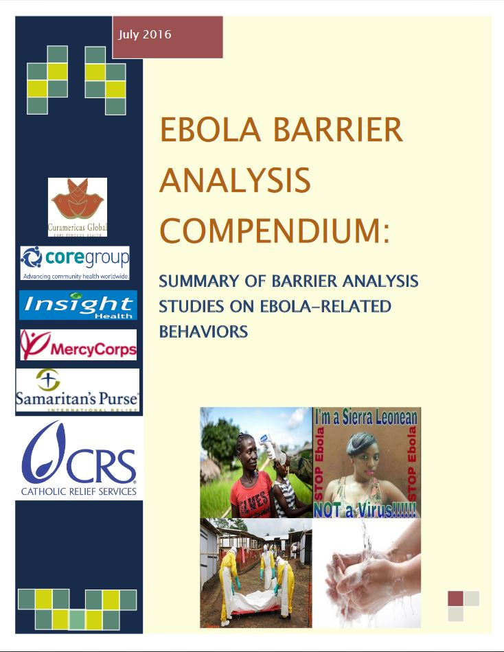 Download Resource: Ebola Barrier Analysis Compendium: Summary of Barrier Analysis Studies on Ebola-Related Behaviors