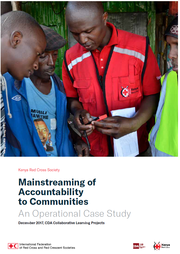 Download Resource: Mainstreaming of Accountability to Communities: An Operational Case Study