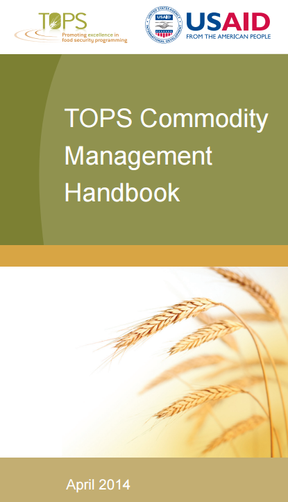 Download Resource: Commodity Management Handbook