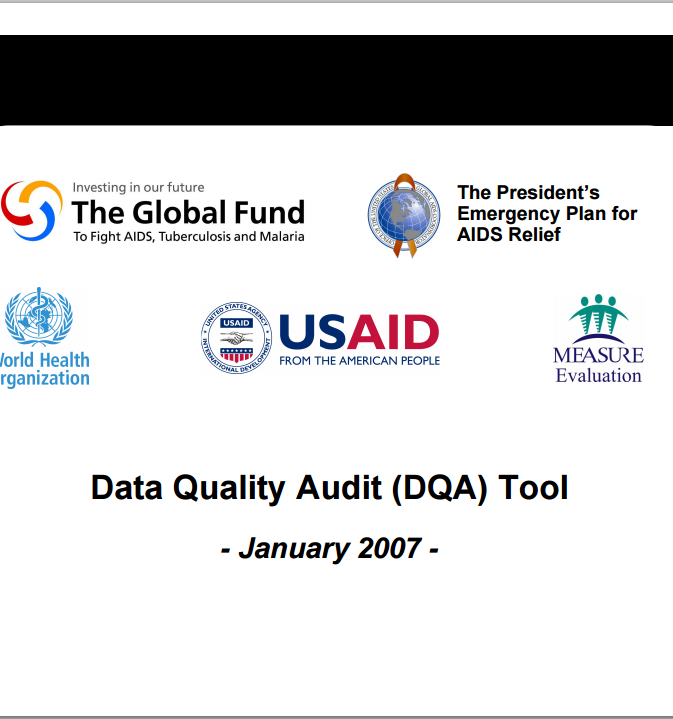Download Resource: Data Quality Audit (DQA) Tool