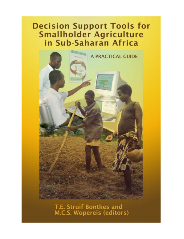 Download Resource: Decision Support Tools for Smallholder Agriculture in Sub-Saharan Africa: A Practical Guide
