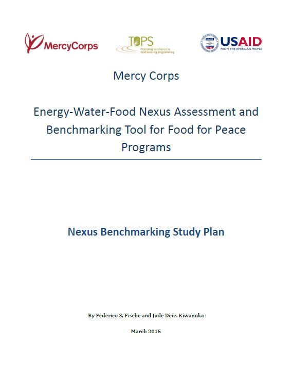 Download Resource: Energy-Water-Food Nexus Assessment and Benchmarking Tool for Food for Peace Programs