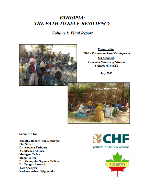 Download Resource: Ethiopia: The Path to Self-Resiliency