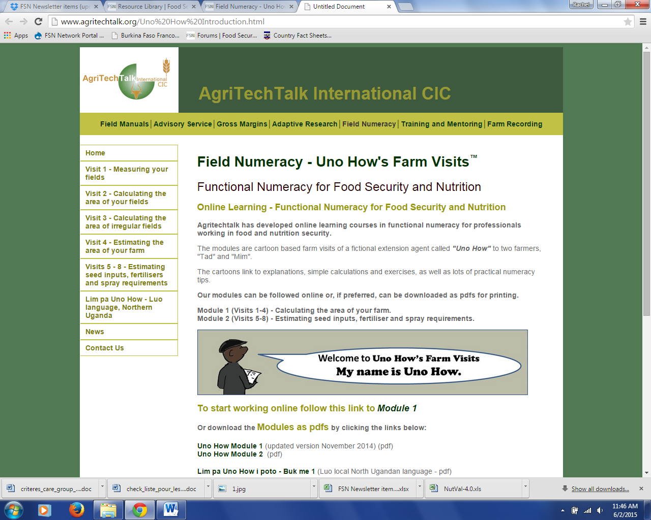 Download Resource: Field Numeracy - Uno How's Farm Visits™