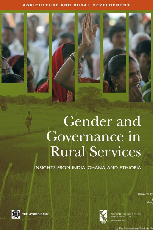 Download Resource: Gender and Governance in Rural Services - Insights from India, Ghana, and Ethiopia