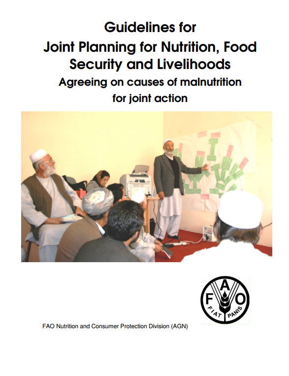 Download Resource: Guidelines for Joint Planning for Nutrition, Food Security and Livelihoods: Agreeing on Causes of Malnutrition for Joint Action