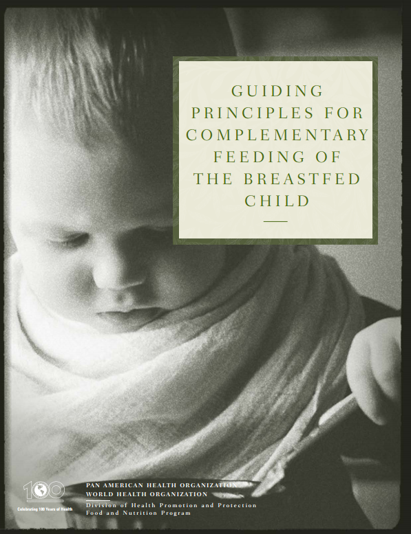 Download Resource: Guiding Principles for Complementary Feeding of the Breastfed Child