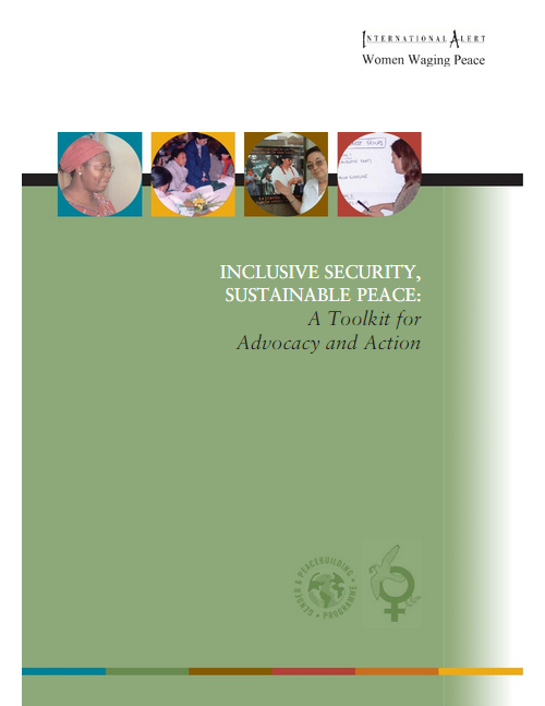 Download Resource: Inclusive Security, Sustainable Peace: A Toolkit for Advocacy and Action