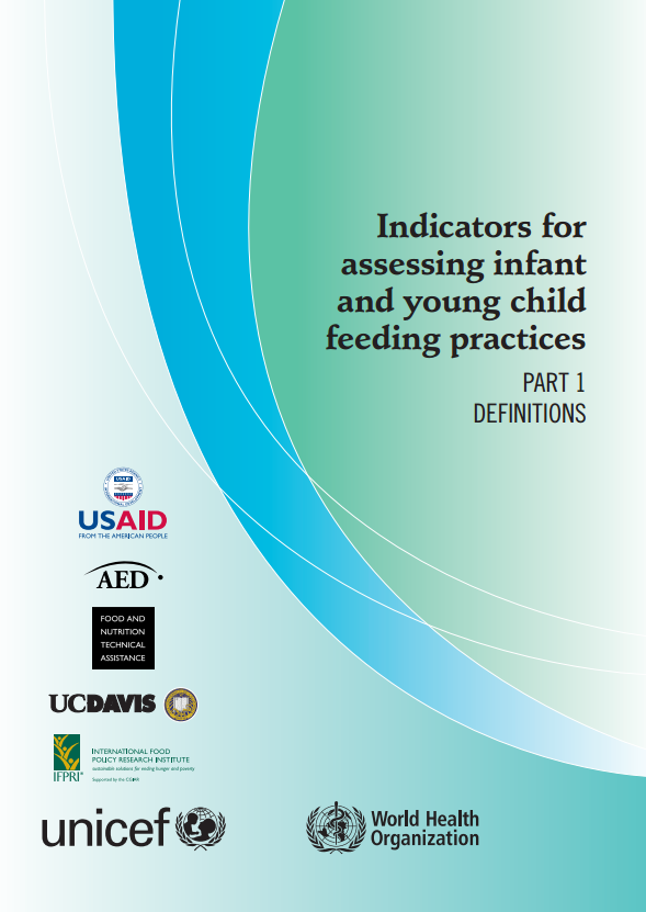 Download Resource: Indicators for Assessing Infant and Young Child Feeding Practices