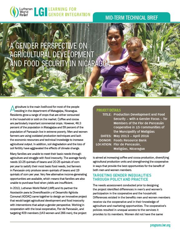 Download Resource: Learning for Gender Integration Mid-Term Technical Briefs