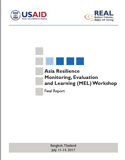 Download Resource: Asia Resilience Monitoring, Evaluation and Learning (MEL) Workshop Final Report