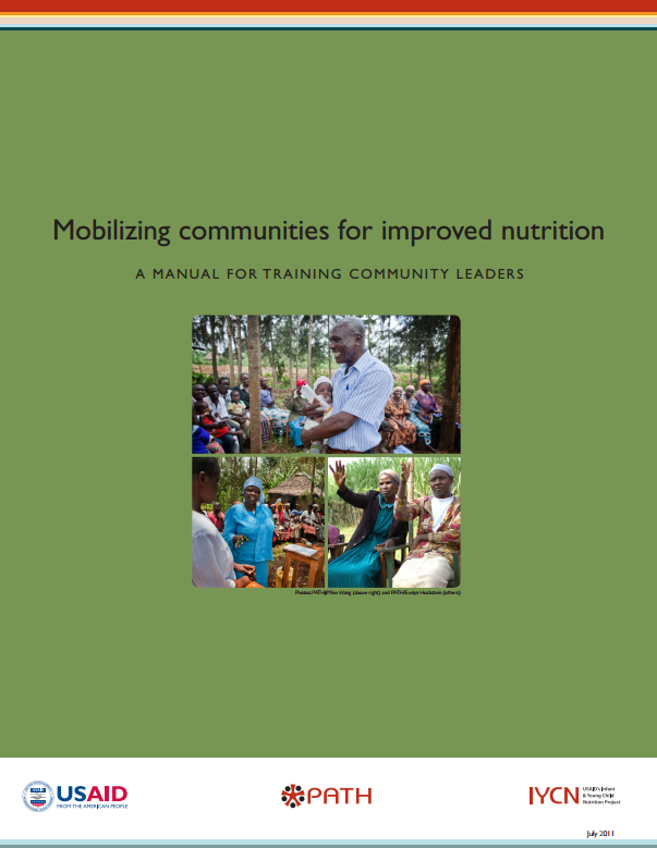 Download Resource: Mobilizing Communities for Improved Nutrition: A Manual and Guide for Training Community Leaders