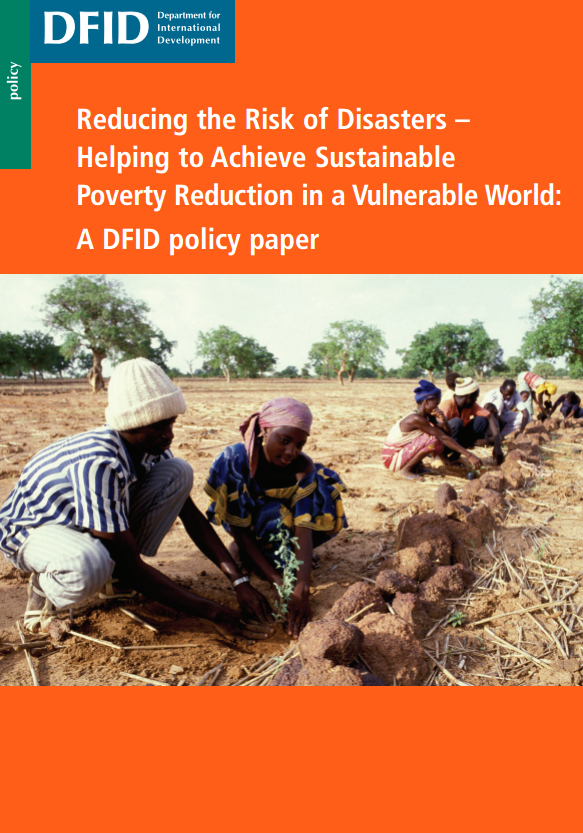 Download Resource: Reducing the Risk of Disasters: Helping to Achieve Sustainable Poverty Reduction in a Vulnerable World