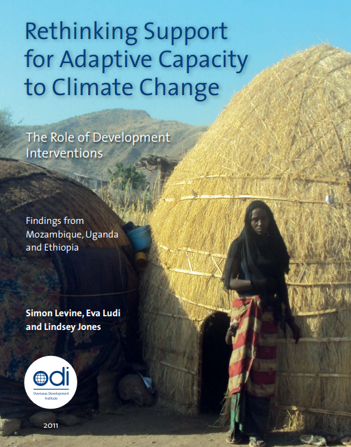 Download Resource: Rethinking Support for Adaptive Capacity to Climate Change: The Role of Development Interventions