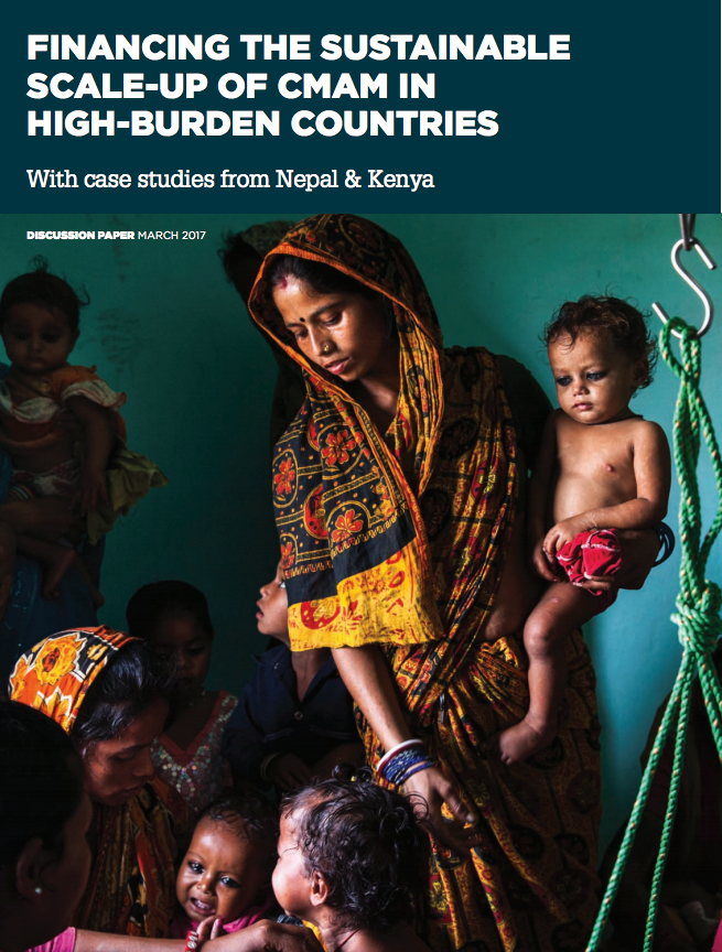 Download Resource: Financing the sustainable scale-up of CMAM in high-burden countries:  with case studies from Nepal & Kenya