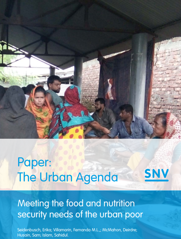 Download Resource: The Urban Agenda: Meeting the Food and Nutrition Security Needs of the Urban Poor
