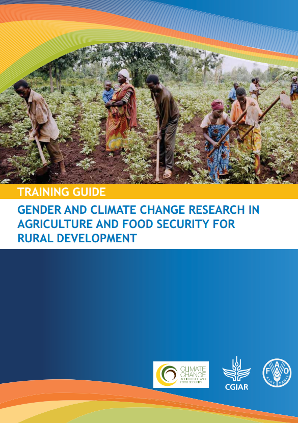 Download Resource: Training Guide:  Gender and Climate Change Research in Agriculture and Food Security for Rural Development
