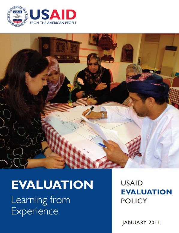 Download Resource: USAID Evaluation Policy