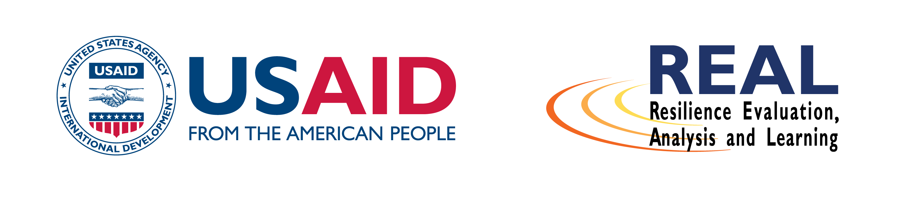 Logos for USAID and the REAL Award