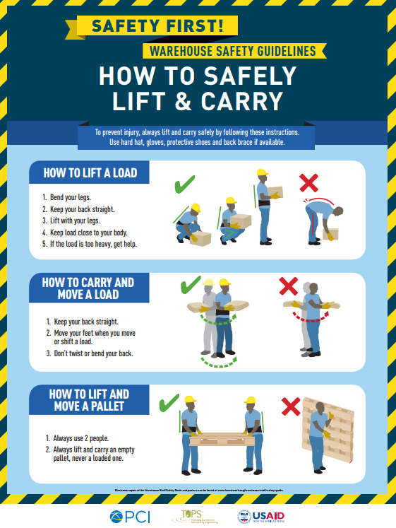 Download Resource: Warehouse Staff Safety Posters