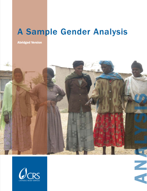 Download Resource: A Sample Gender Analysis