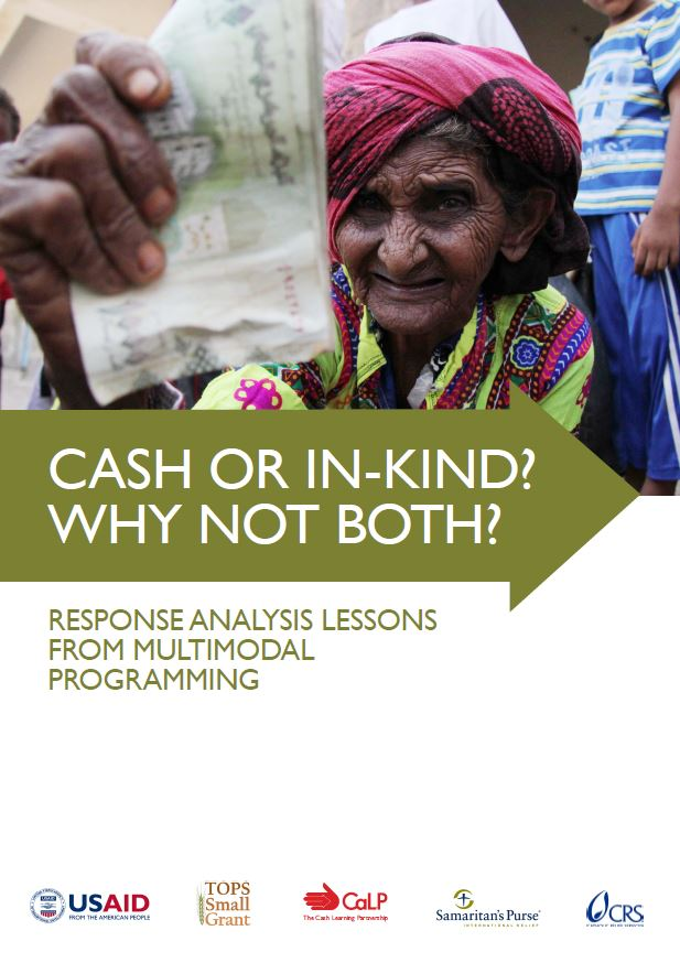 Download Resource: Cash or In-Kind? Why Not Both? Response Analysis Lessons from Multimodal Programming