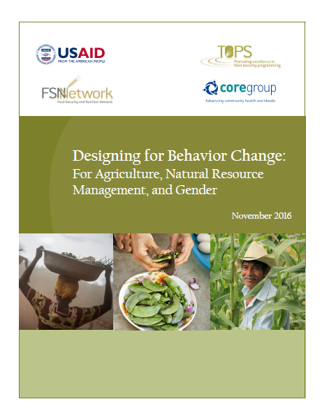 Download Resource: Designing for Behavior Change: For Agriculture, Natural Resource Management, and Gender
