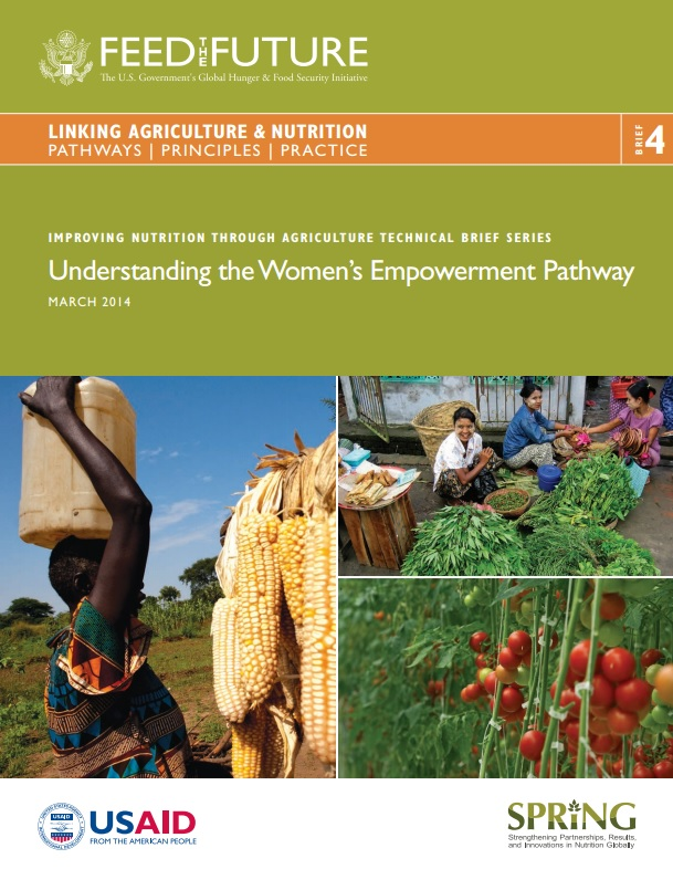 Download Resource: Linking Agriculture & Nutrition Pathways | Principles | Practice