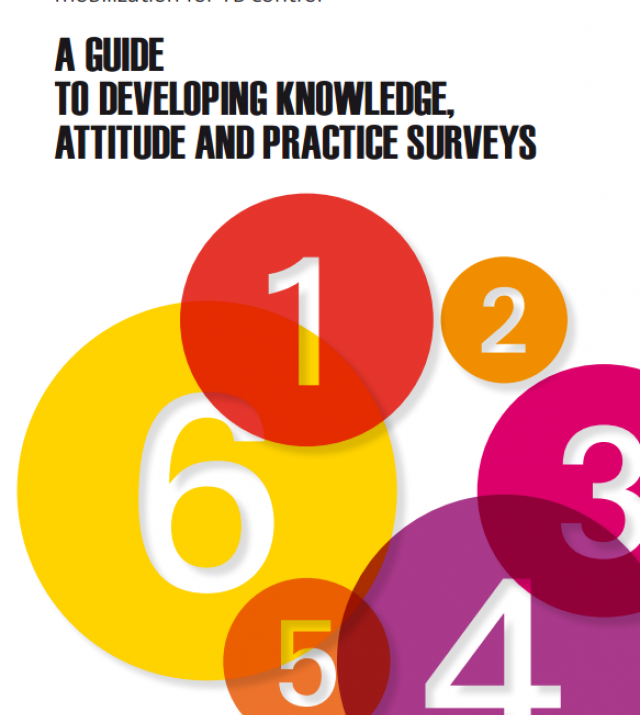 Download Resource: A Guide to Developing Knowledge, Attitude and Practice Surveys