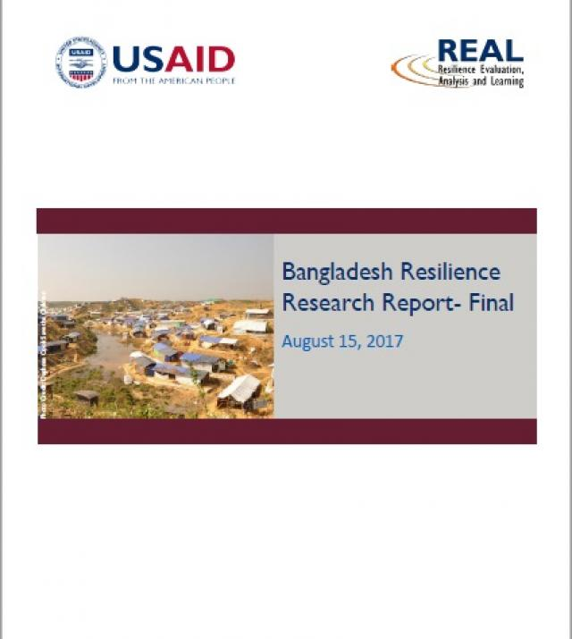 Download Resource: Bangladesh Resilience Research Report - Final