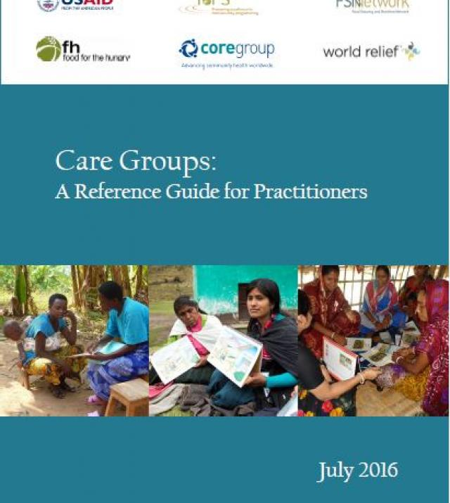Download Resource: Care Groups: A Reference Guide for Practitioners