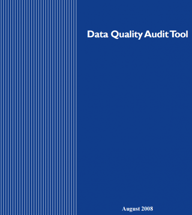 Download Resource: Data Quality Audit Tool