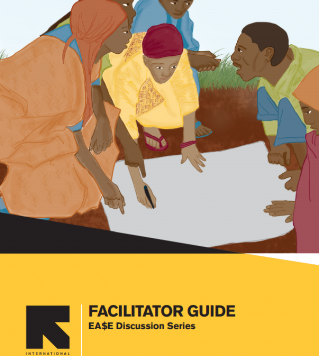Download Resource: EA$E Discussion Series  - Facilitator's Guide
