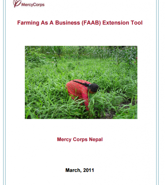 Download Resource: Farming as a Business Extension Tool