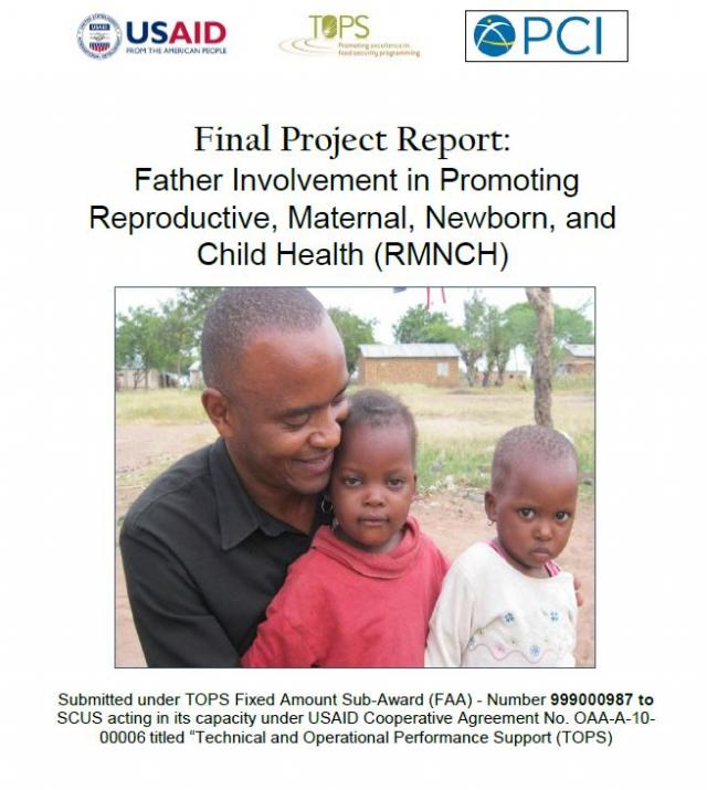Download Resource: Father Involvement in Promoting Reproductive, Maternal, Newborn, and Child Health (RMNCH)