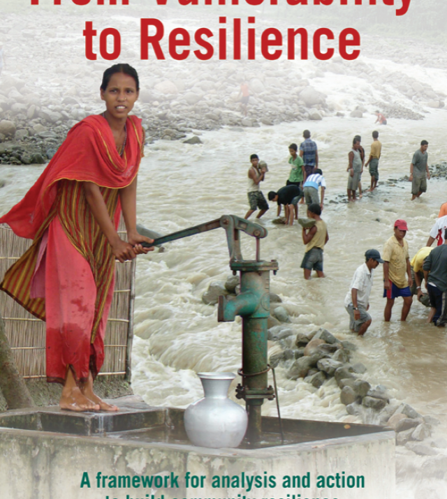 Download Resource: From Vulnerability to Resilience: A Framework for Analysis and Action to Build Community Resilience