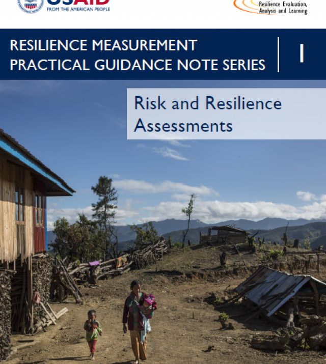 Download Resource: Resilience Measurement Practical Guidance Series: Guidance Note 1 – Risk & Resilience Assessments