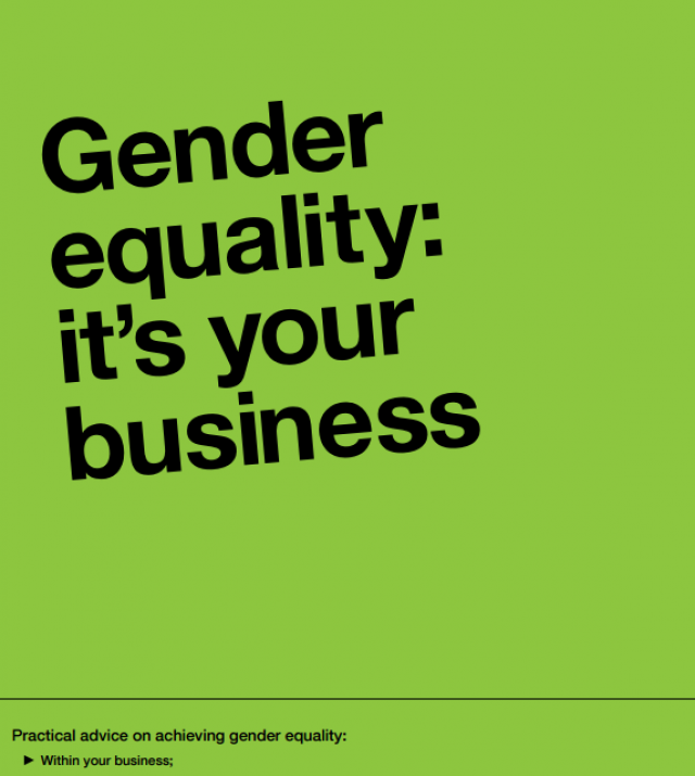 Download Resource: Gender Equality: It's Your Business