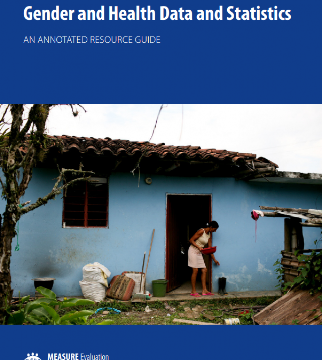 Download Resource: Gender and Health Data and Statistics: An Annotated Resource Guide