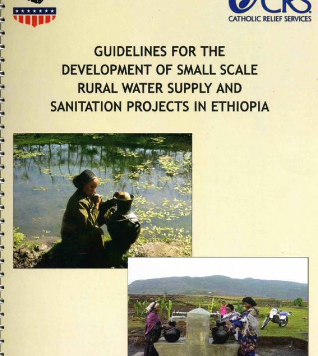 Download Resource: Guidelines for the Development of Small Scale Rural Water Supply and Sanitation Projects in Ethiopia and East Africa