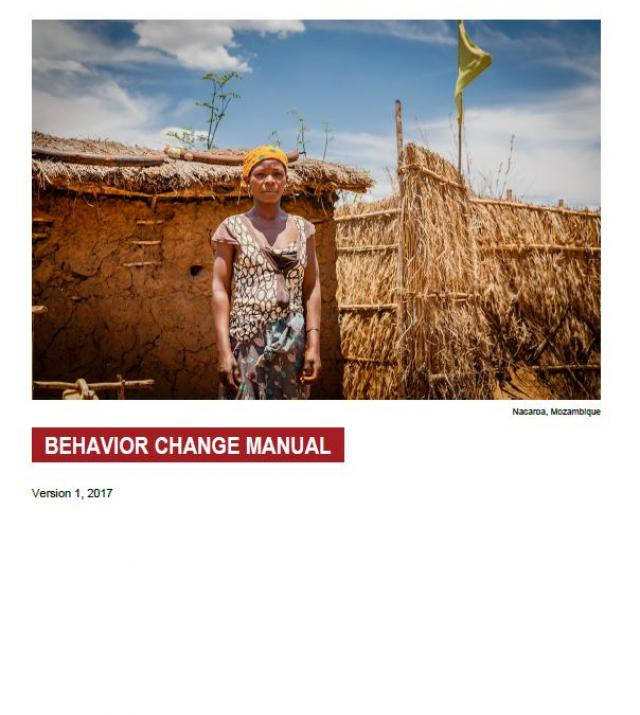 Download Resource: Behavior Change Manual for WASH Projects