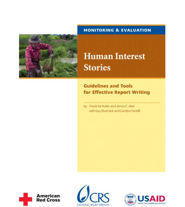 Download Resource: Human Interest Stories: Guideline and Tools for Effective Report Writing