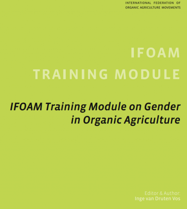 Download Resource: IFOAM Training Module on Gender in Organic Agriculture