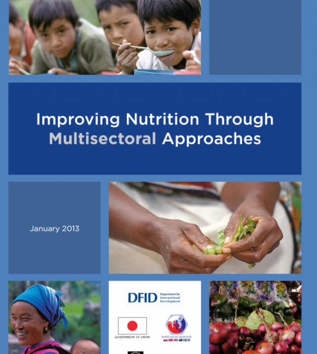 Download Resource: Improving Nutrition through Multisectoral Approaches