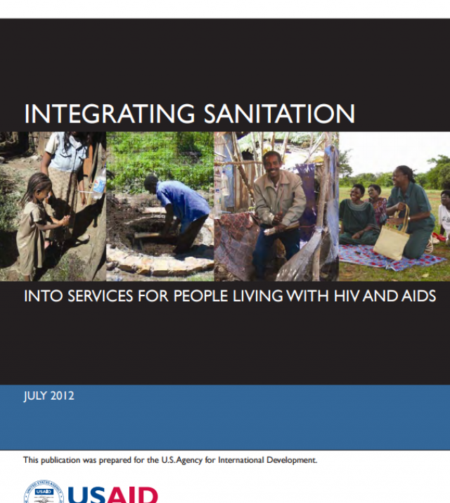 Download Resource: Integrating Sanitation into Services for People Living with HIV and AIDS